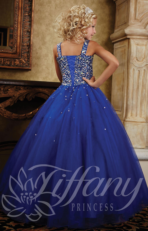 Tiffany Princess 13380 Dripping In Diamonds Dress Prom Dress