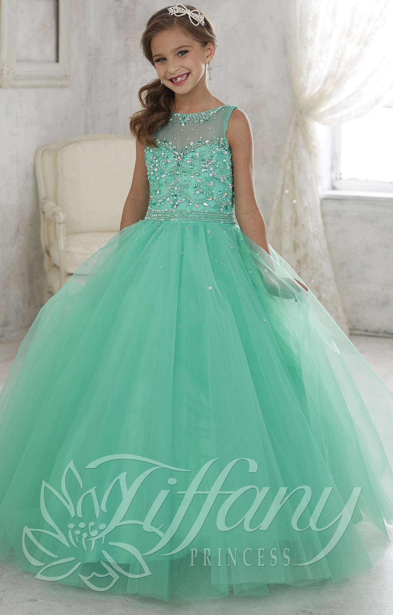 Tiffany Princess 13442 - Ballgown Dreams Dress Prom Dress