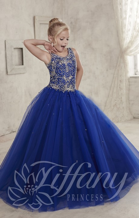 Tiffany Princess 13447 Royalty First Gown Prom Dress