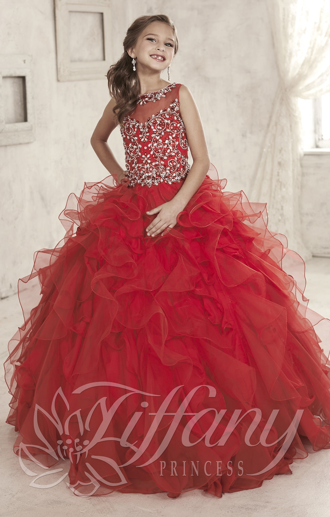 Tiffany Princess 13452 Perfect Princess Dress Prom Dress