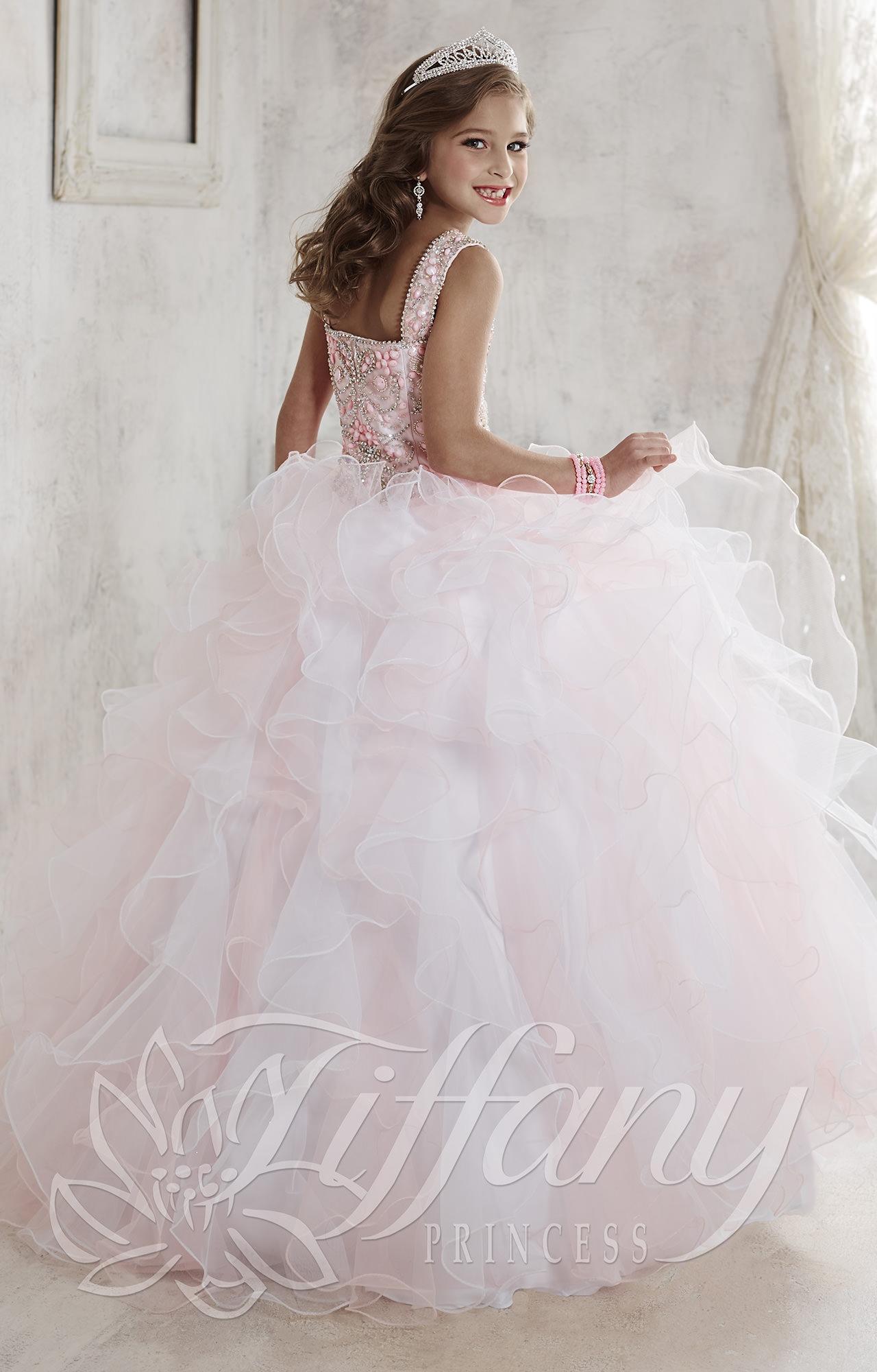 Tiffany Princess 13456 - Fit for a Princess Dress Prom Dress