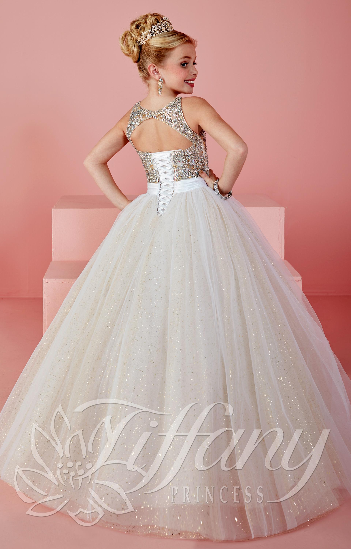 Tiffany Princess 13476 Dazzling Diva Dress Prom Dress