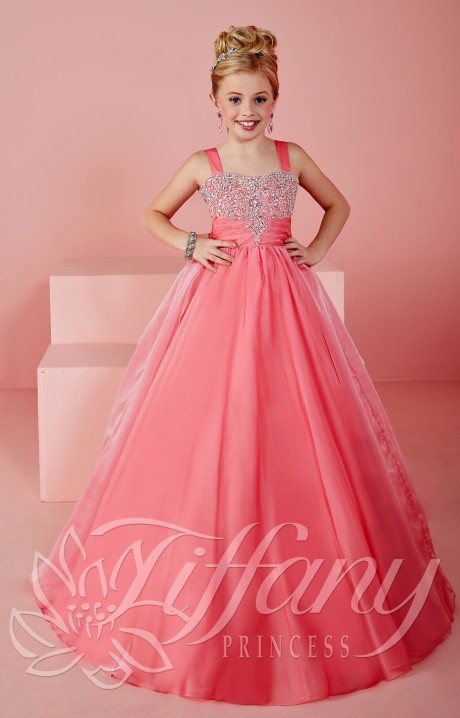 Tiffany Princess 13477 Little Miss Confident Dress Prom