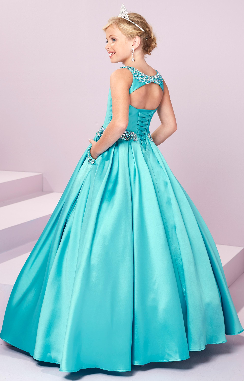 Tiffany Princess 13485 - Silk Ballgown Dress Prom Dress