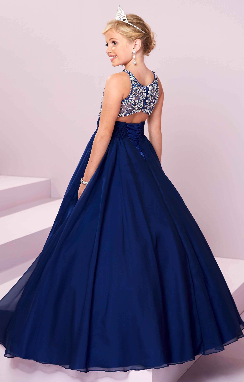 Tiffany Princess 13488 Beaded Chiffon Dress Prom Dress