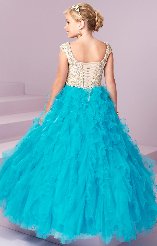 Tiffany Princess 13499 - Ruffles and Fluff Prom Dress