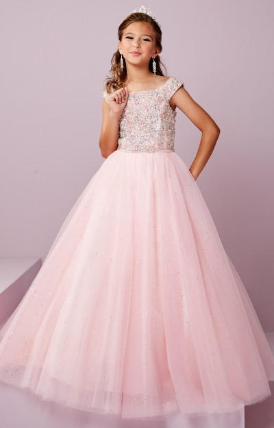 58517d9f382 Embroidered Lace Tulle Gown  250.00. Tiffany Princess 13491